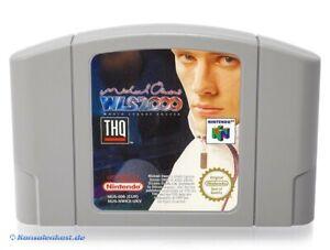 N64-Nintendo-64-Jeu-Michael-Owen-039-s-WLS-2000-Soccer-Module