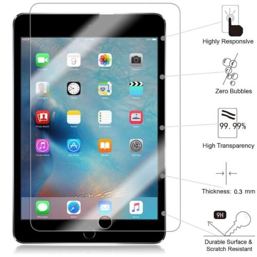 8//2 PACK Premium HD Tempered Glass Screen Protector for iPad Mini 1//2//3 7.9 inch