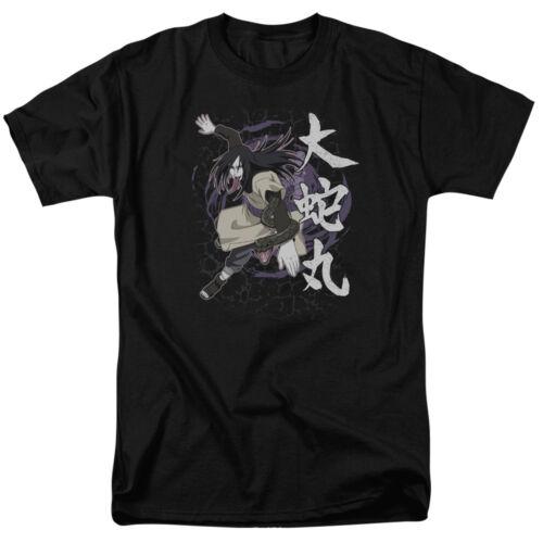 Naruto Shippuden Anime Manga OROCHIMARU Adult T-Shirt All Sizes