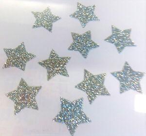 10-etoiles-argent-2-5cm-Flex-thermocollant-GLITTER-SILVER-BLING-hotfix