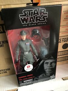 """Star Wars Black Series 6/"""" Walgreens Exclusive General Veers"""