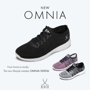 Bloch Omnia dance sneaker S0926G size