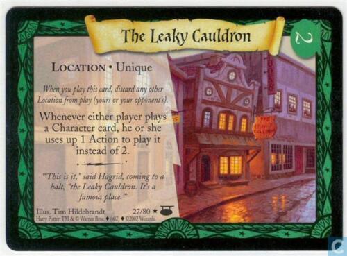 Harry Potter TCG Diagon Alley The Leaky Cauldron 27//80