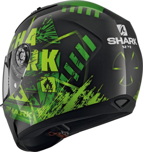 NEU SHARK Helm Ridill Skyd green grün Gr. L = 59/60 Motorradhelm Sonnenblende
