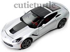Maisto 2014 Chevrolet Corvette C7 Stingray Z51 1:18 Exclusive ED. 38132 Silver