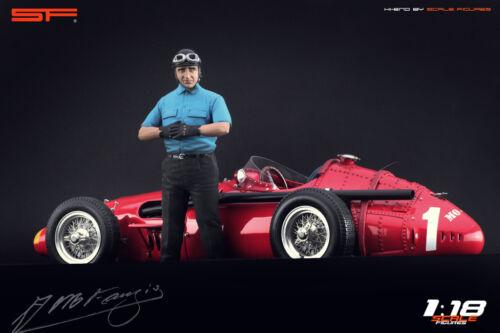 NO CARS ! for diecast collectors 1:18 Juan Manuel Fangio figurine VERY RARE !!
