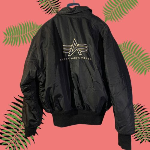 Vintage Alpha Industries MA-1 Flight Bomber Jacket