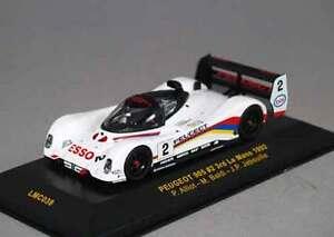IXO-LMC038-Peugeot-905-2-Jabouille-3rd-1992-Le-Mans-Racing-Cars-1-43-Diecast