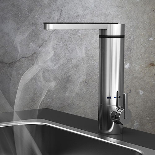 Sink mounted Super Instant Electric water heater Cold&hot faucet mixer tap LC622