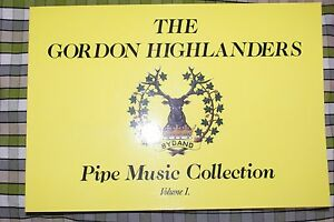 Belle Gordon Highlanders Cornemuse Musique Livre Pipe Tunes Collection-afficher Le Titre D'origine
