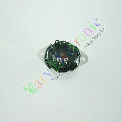 4pc 9PIN shell bakelite Vacuum TUBE SOCKET For 12AX7 12AU7 AUDIO tube amp parts
