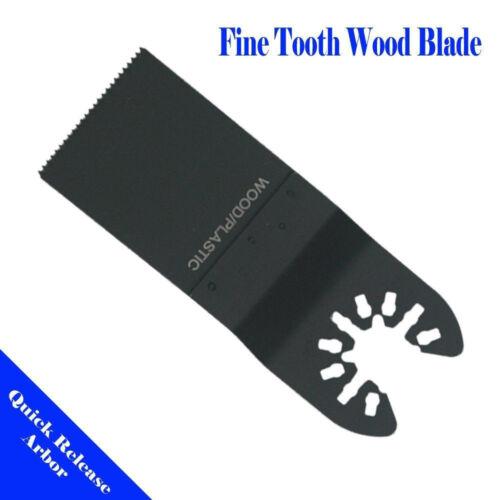 2 Blade Oscillating Multi Tool For Dewalt Porter cable Hawk Ridgid Craftsman