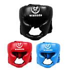 Headgear Head Guard Training Kick Boxing Protector Sparring Gear Face Helmet US