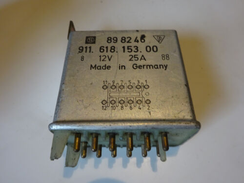 PORSCHE 911 Turbo 84-89 relè Ventilatore addizionale Heater Blower Fan relay 91161815300