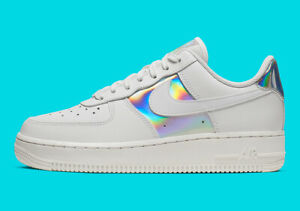 Details zu Nike Air Force 1 Low Summit White Metallic Silver Damen EUR 39