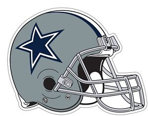 67450a1a Dallas Cowboys Helmet NFL Logo Vinyl Decal Sticker - You Pick Size ...
