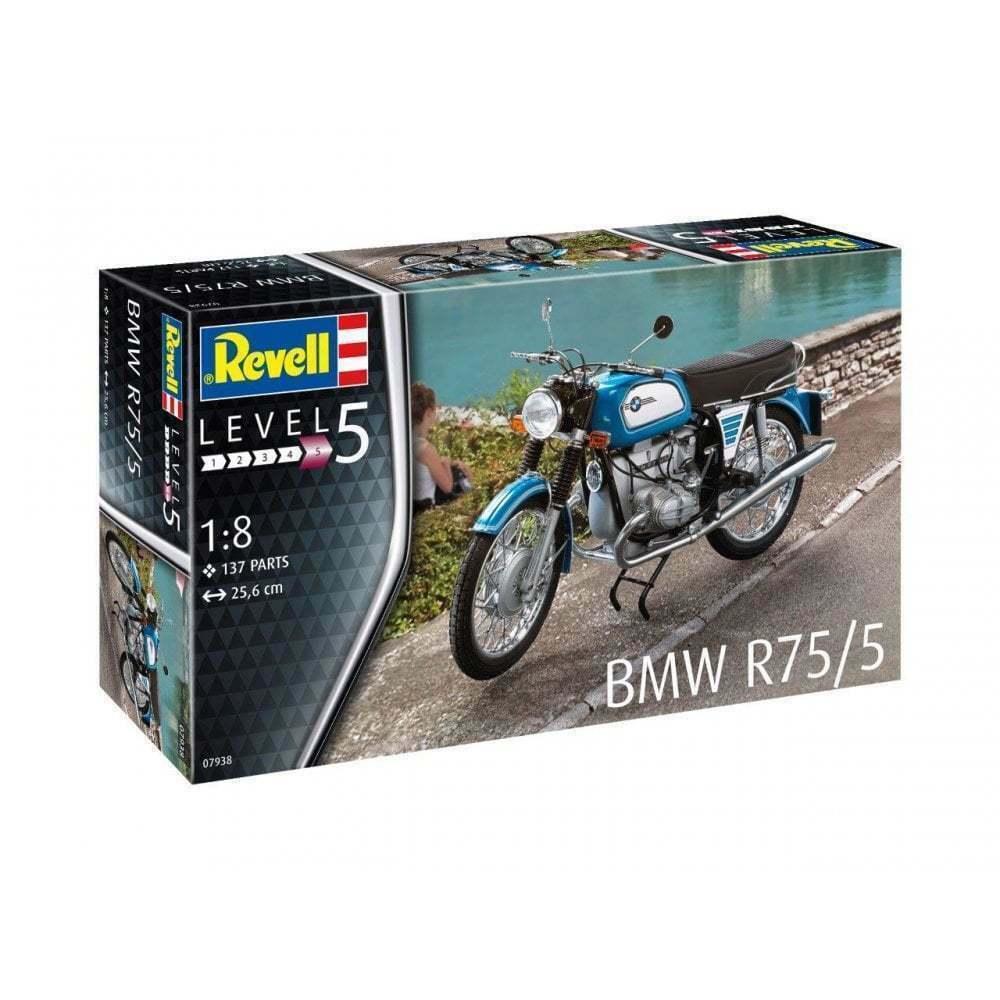 Revell BMW R75 5 Motor Bike 1 8 Motorbike Moto Kit Model Set Item 07938