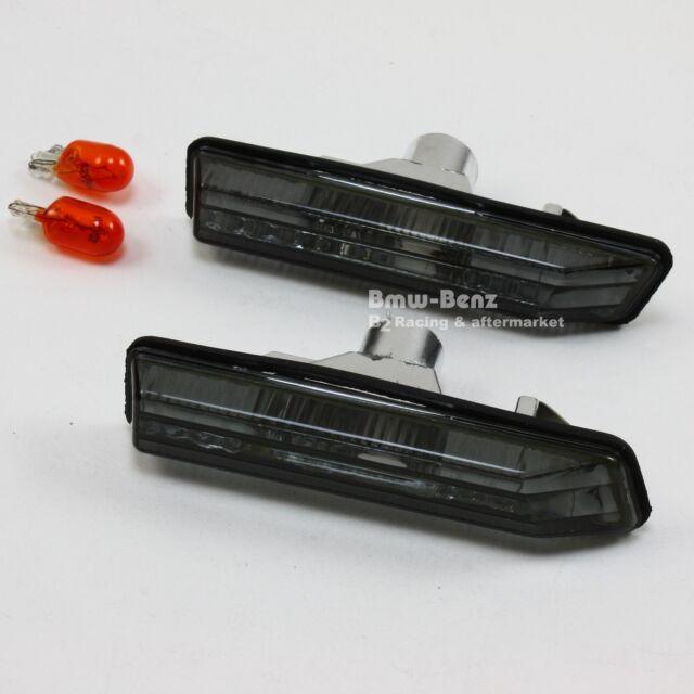 BMW E53 X5 E36 Coupe Bulb Side Marker Repeater Lights Lamps Turn Signal-SMOKE