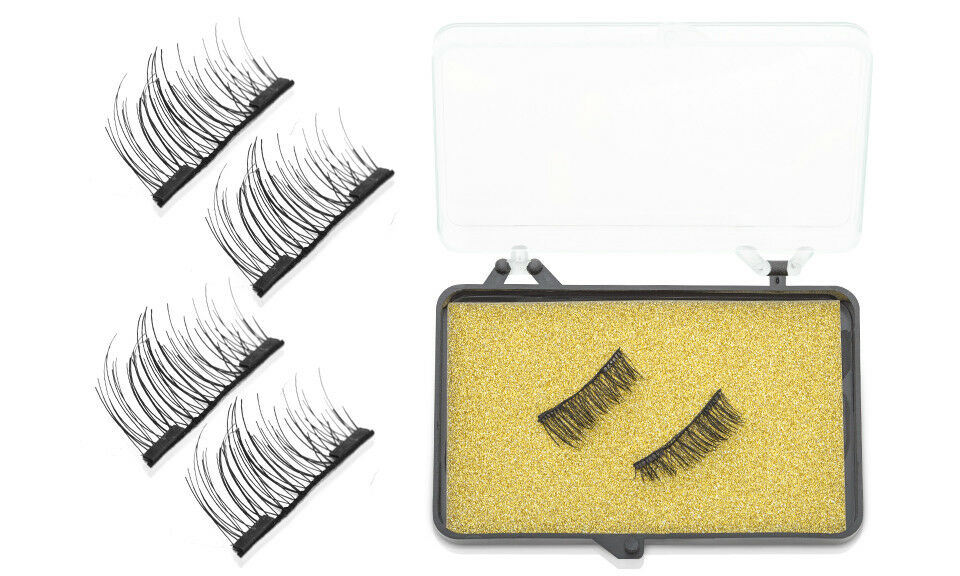 9f765f0f317 Aquarius Professional 3d Double Magnetic Lightweight and Reusable Eyelashes  With for sale online | eBay