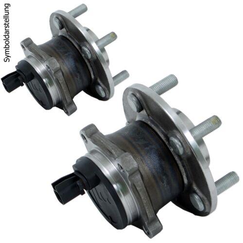 2x Moyeu Roue RADLAGERSATZ Roulement De Roue Set arrière pour Toyota Corolla e12 AURIS e15