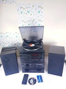 Technics-HiFi-Separates-Stack-System-Amp-Equalizer-Turntable-Tuner-CD-Tape-Deck