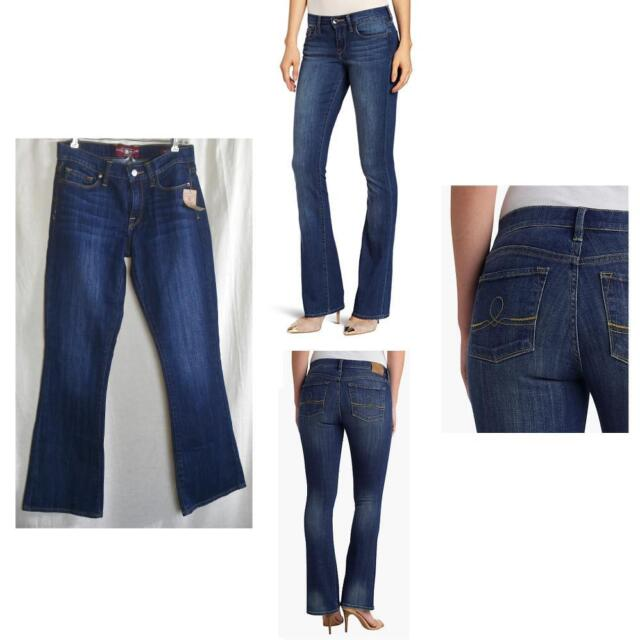 Clothing, Shoes & Accessories NWT Lucky Brand Medium Wash Stretch Curvy Sofia Boot Jeans Size 6 or Size 28 Jeans