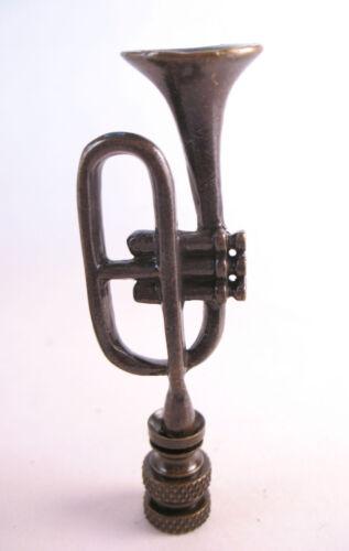 Lamp Finial Bronze Trumpet  Topper 1472