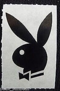 new playboy bunny logo tattoo tanning sunbed stickers x 10 | ebay