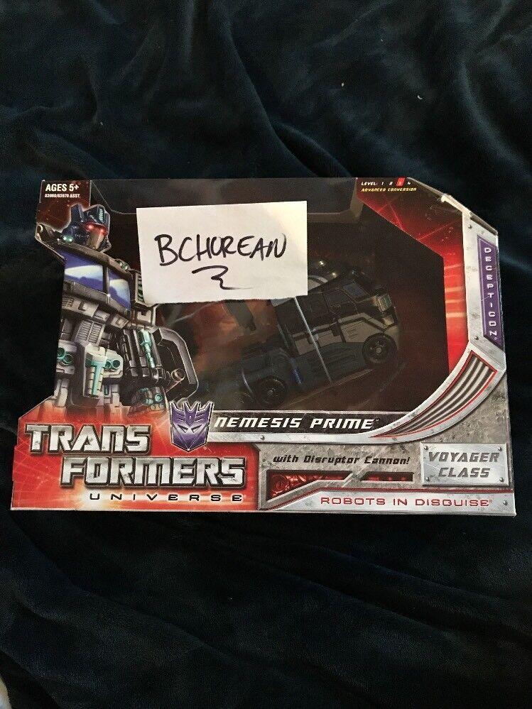 comprar nuevo barato Universo de Transformers 2.0 Sdcc 2008 2008 2008 Voyager Class Nemesis Prime Exclusivo Nuevo  80% de descuento