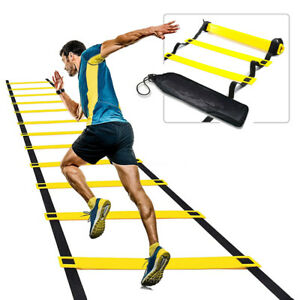 6m 12Rung Speed Agility Fitness Training Ladder Footwork