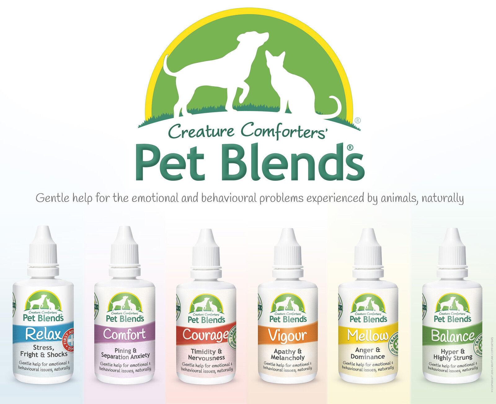 Natural Pet Rimedio paura calma l'ansia di separazione rabbia cane gatto cavallo PET unioni ®