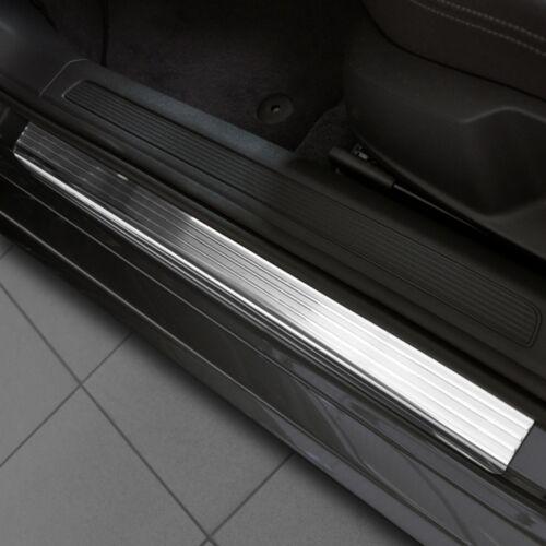 steel PEUGEOT 308 II 5D HATCHBACK since 2013 Car Door Sill Protector polyure