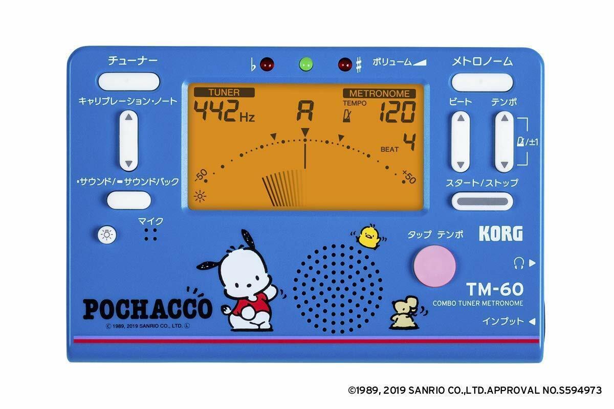 KORG TM-60-SPC Pochacco Combo Tuner Metronome FREE SHIPPING