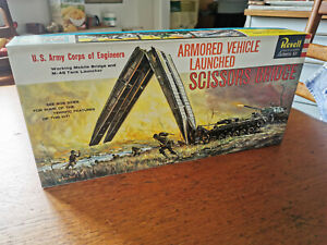 Armored Vehicle Launched Scissors Bridge Revell Nr. H-542:249 1:40, 1st ed. 1960