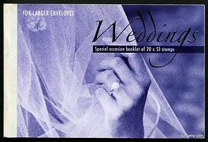 2003-Weddings-Prestige-Booklet-Stamps-Mint-Australia