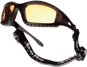 Bolle-Tracker-sports-safety-glasses-goggles-with-yellow-lens-strap-and-arms