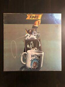 RAY-DAVIES-SIGNED-AUTOGRAPH-VINYL-ALBUM-RECORD-LP-THE-KINKS-DAVE-ARTHUR