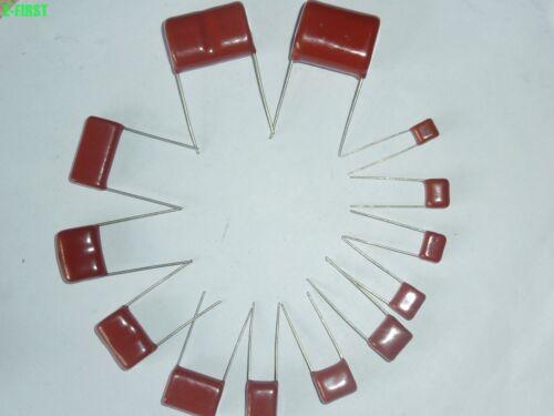 200PCS CBB 104J 400V CBB21 0.1UF 100NF P10 Metallized Film Capacitor