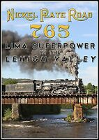 Nkp 765 Lima Super Power In The Lehigh Valley 2015 Lehigh Line Excursions Dvd