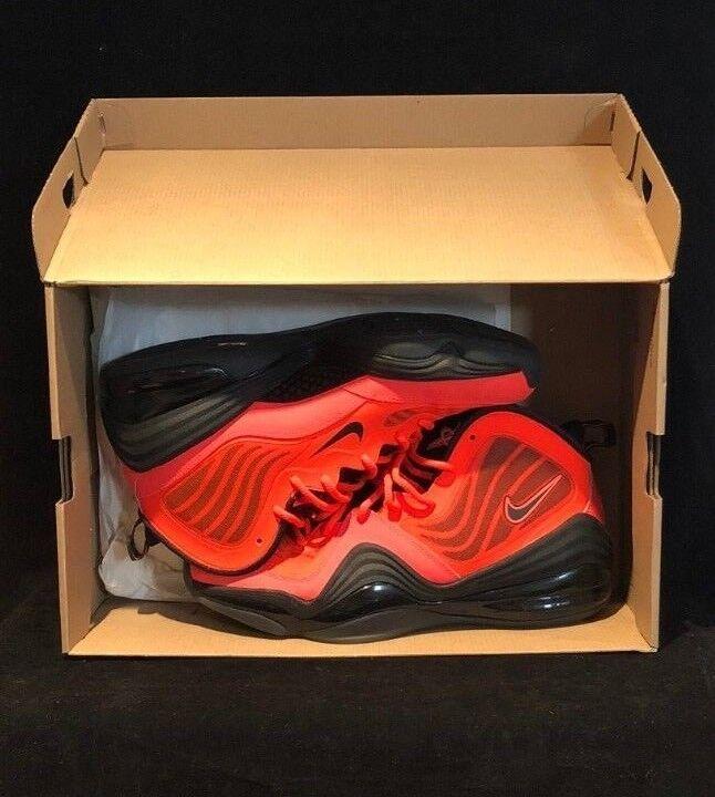 Nike mens - luft penny / basketball - mens schuh - orange - schwarzen größe 44, 45 euro ae936b