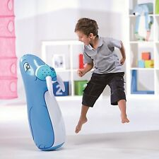 WALRUS BESTWAY INFLATABLE BLOW UP 3D BOP PUNCH PUNCHING BOXING BAG TOY W/SAND