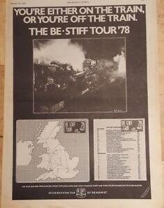 Stiff-tour-jona-lewie-lene-lovich-1978-press-advert-Full-page-28-x-39-cm-poster