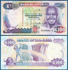 SAMBIA / ZAMBIA 100 Kwacha (1991) UNC  P.34