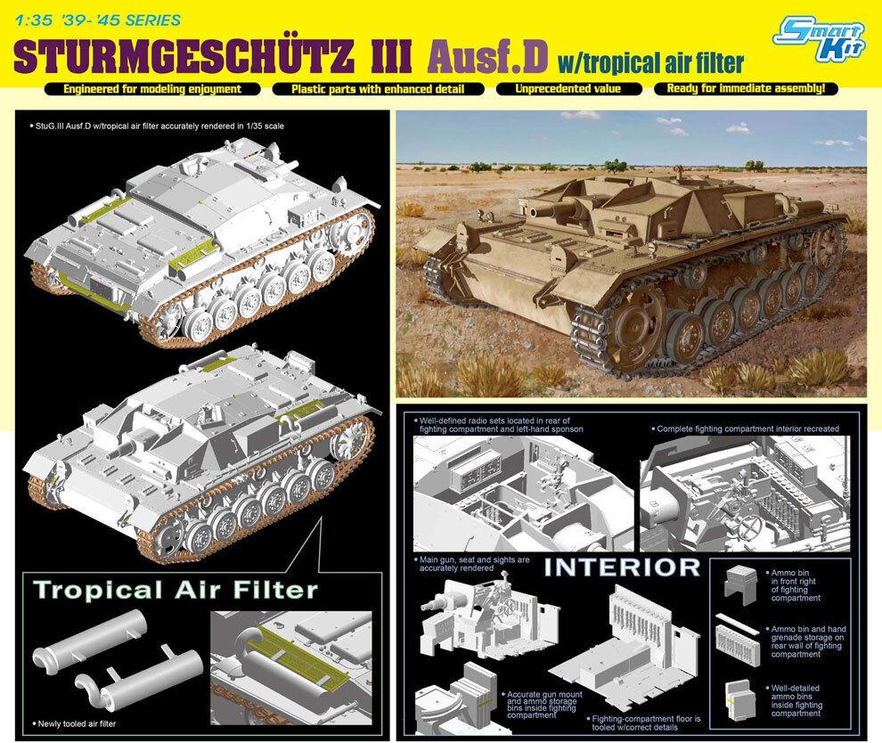 Dragon 1 35 Sturmgeschutz III Ausf.D w Tropical Air Filter