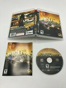 Sony PlayStation 3 PS3 CIB Complete Tested Need for Speed Undercover