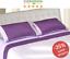 Completo-letto-lenzuolo-matrimoniale-raso-di-cotone-colore-Viola-Chiaro