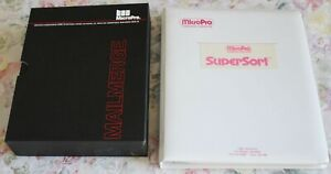 Vintage 1981,1983 MicroPro SuperSort / MailMerge CPM software Users MANUALS ONLY