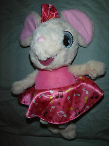 "HALLMARK INTERACTIVE 16"" MIMI MOUSE Plush Soft Toy Stuffed Animal"