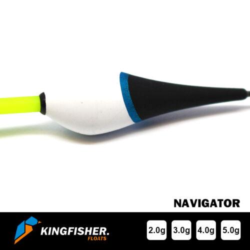"SLIDING POLE FLOAT The Kingfisher /""Navigator/"" Pack of 4 FISHING FLOATS"