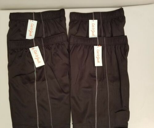 Black Boys Shorts Lot of 4 Size Small 6//7 New w//Tags Free Gift